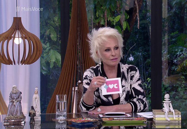 A apresentadora retornou ao programa na manhã desta segunda-feira, 23 - Foto: Reprodução   TV Globo
