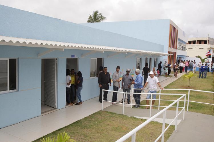 Obras de reconstrução da escola duraram 10 meses - Foto: Luciano da Matta l Ag. A TARDE