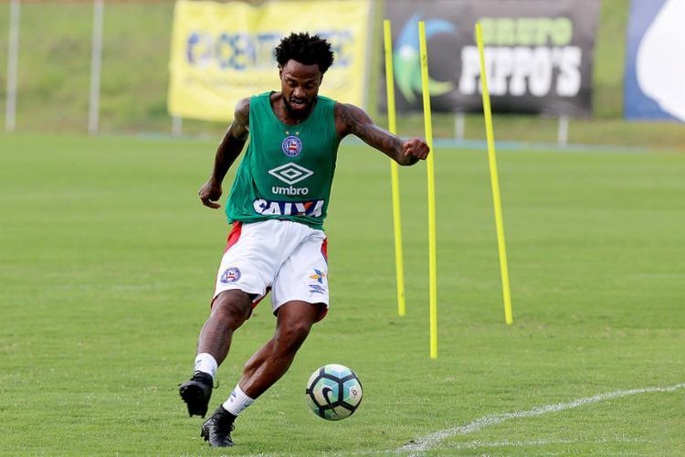 Renê Junior é o jogador do Bahia com mais desarmes: 69 - Foto: Felipe Oliveira l EC Bahia