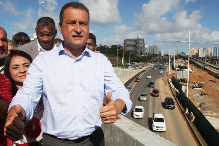 Rui Costa, governador da Bahia - Foto: Xando Pereira | Ag. A TARDE | 11.07.2017