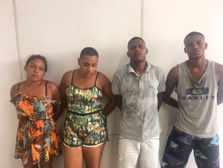 Suspeitos praticavam roubos para custear festa de aniversário - Foto: Divulgação   SSP-BA
