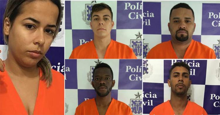 Daniela e os comparsas responderão por homicídio duplamente qualificado - Foto: Divulgação l Polícia Civil