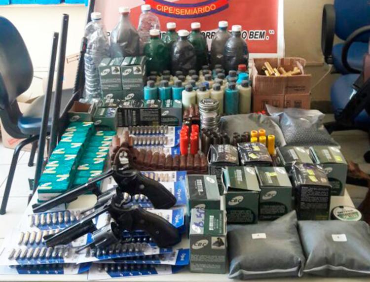 Manoel Messias mantinha o comércio como fachada para a venda de armas ilegais - Foto: SSP-BA | Divulgação