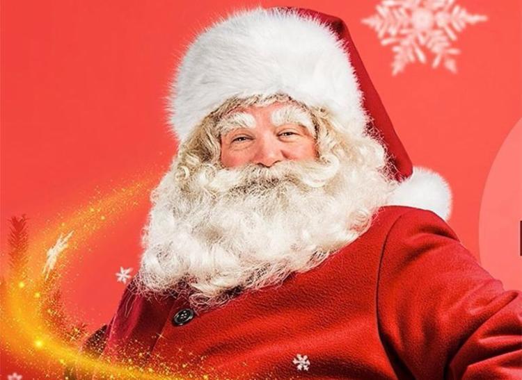Papai Noel chega no shopping nesta sexta, 27, às 19 horas - Foto: Divulgação