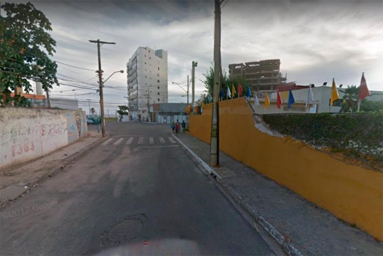 Rua Barreto Pedroso foi modificada para via de mão única - Foto: Reprodução | Google Maps