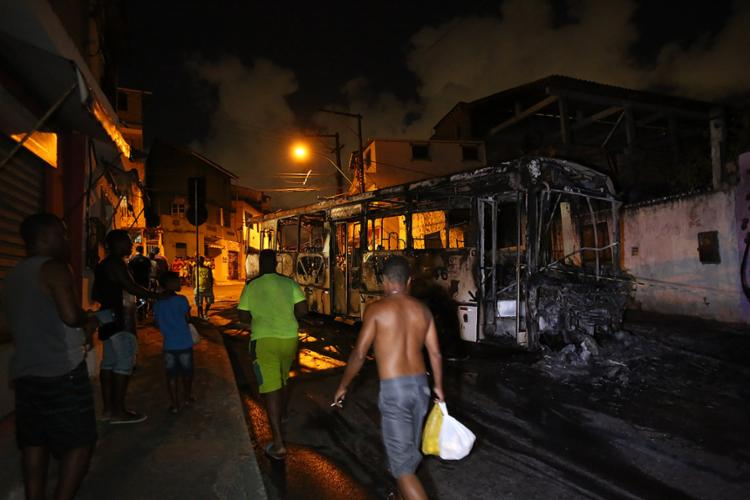 Segundo as investigações, criminosos são da facção CP e agiram para vingar ação da PM - Foto: Joá Souza l Ag. A TARDE