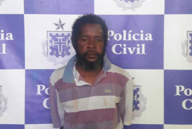 Edilson Santana da Silva foi detido no bairro do Uruguai - Foto: Divulgação   SSP-BA