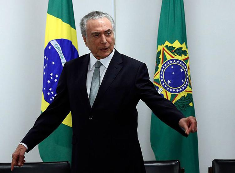 Temer terá de lidar com uma base aliada apertada e sedenta de benesses - Foto: Valter Campanato l Agência Brasil