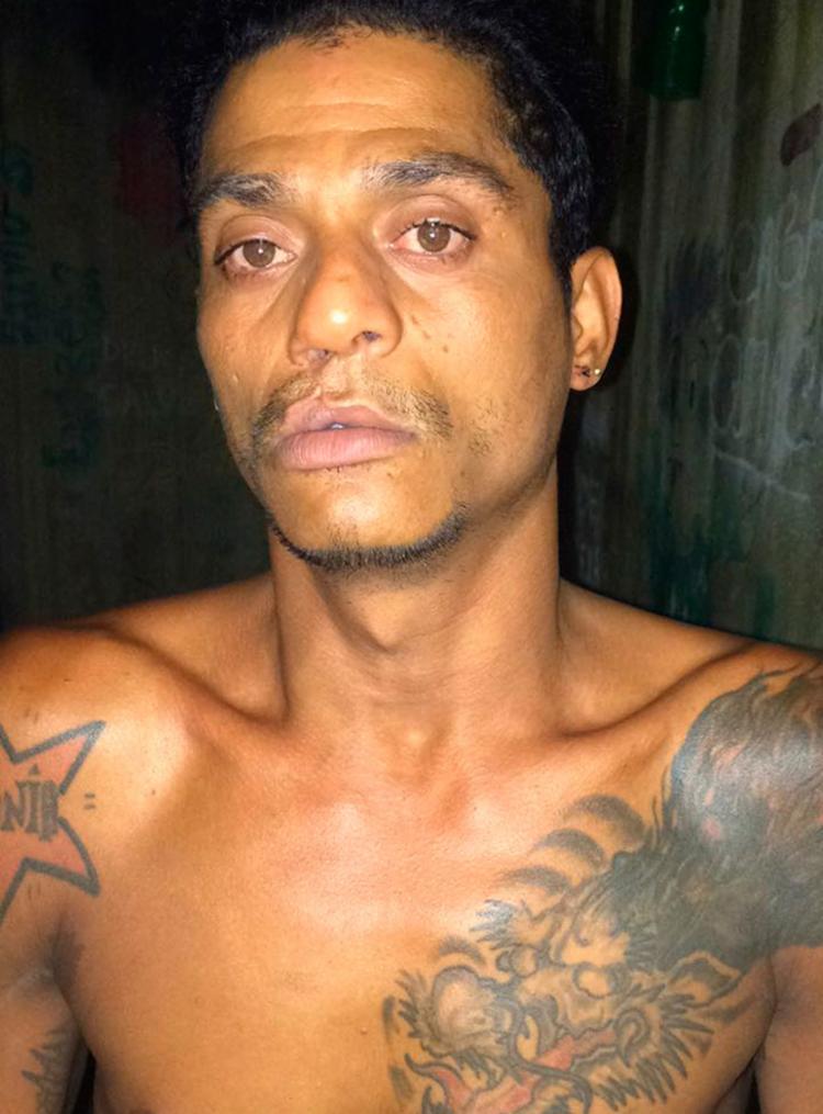 Índio foi preso na última quinta na Chapada do Rio Vermelho - Foto: Divulgação | SSP-BA