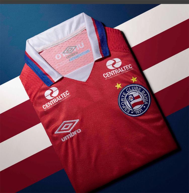 Camisa já está à venda nas lojas do clube - Foto: Reprodução   EC Bahia