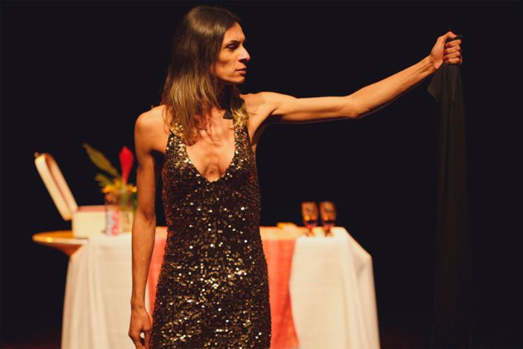 Atriz trans Renata Carvalho no papel de Jesus - Foto: Ligia Jardim   Divulgação