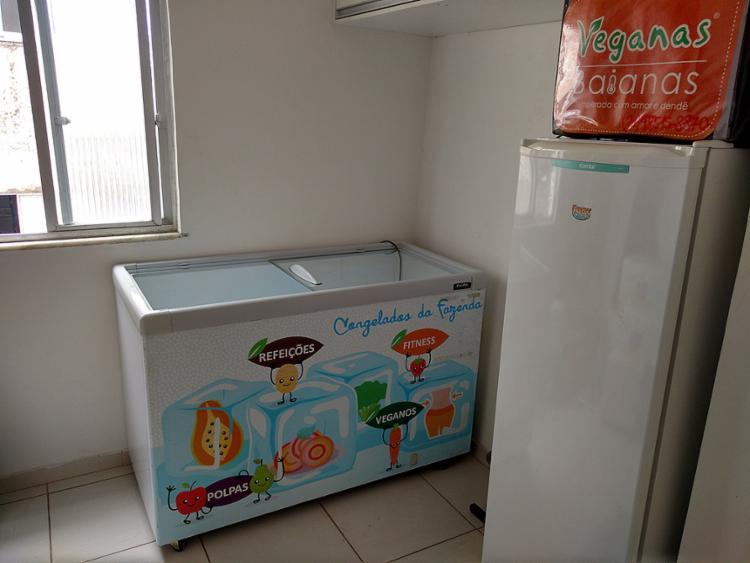 Freezer que transportava o produto foi recuperado - Foto: Divulgação