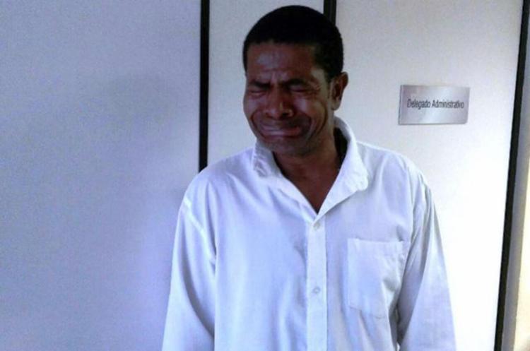Pedro da Silva Paixão, 51 anos, foi encaminhado para o Conjunto Penal de Feira de Santana - Foto: Aldo Matos | Reprodução | Acorda Cidade