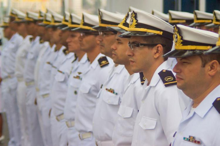 São oferecidas 60 vagas para profissionais com nível superior - Foto: Divulgação | Marinha