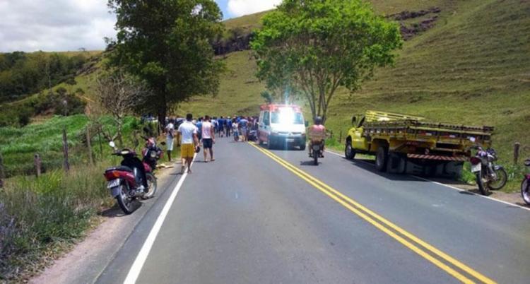 Acidente aconteceu na manhã deste sábado, 28, em Mutuípe - Foto: Reprodução | Noel Silva | Mídia Bahia