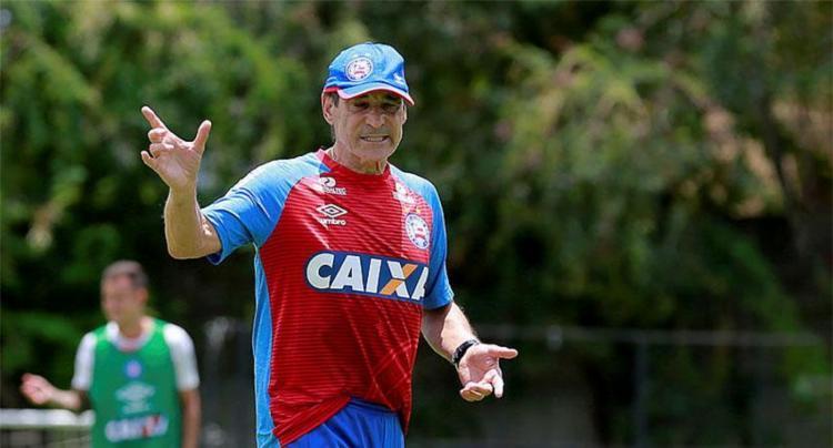 Depois de três derrotas, Carpegiani busca primeiro triunfo do Bahia no Rio - Foto: Marcelo Malaquias | Divulgação | ECBahia