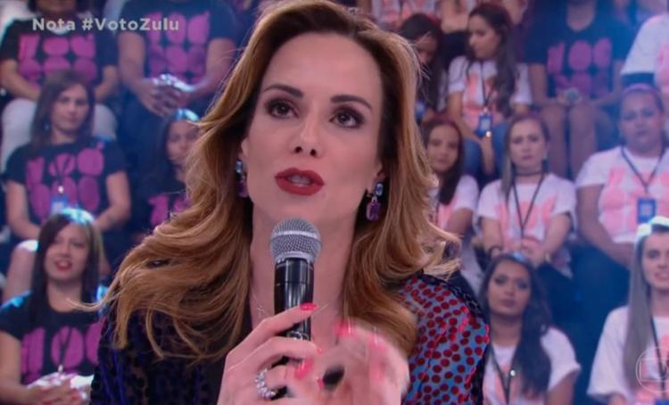 Apresentadora declarou que substituir um apresentador é algo positivo para ela - Foto: Reprodução | TV Globo