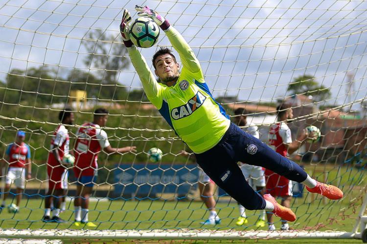 Jean é o único jogador do Bahia que atuou nas 31 rodadas do Brasileirão-2017 - Foto: Marcelo Malaquias l EC Bahia
