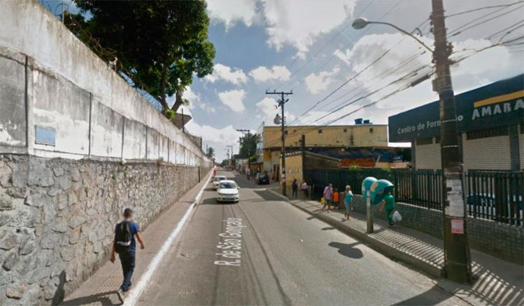 Troca de tiros ocorreu em São Gonçalo do Retiro - Foto: Reprodução | Google Maps