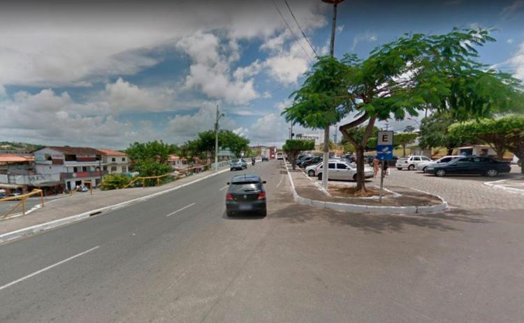 Acidente aconteceu próximo à prefeitura de Simões Filho - Foto: Reprodução | Google Maps