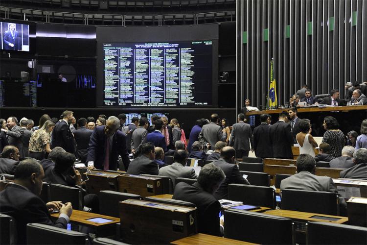 Deputados da base e oposição fizeram acordo para aprovar a medida - Foto: Luis Macedo l Câmara dos Deputados