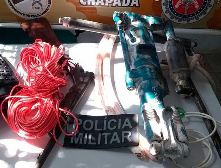 O material foi encontrado após uma denúncia anônima - Foto: Divulgação | SSP-BA