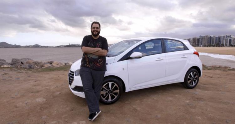 Rodrigo Pessotti comprou o primeiro HB20 em 2012 - Foto: Hyundai | Divulgação
