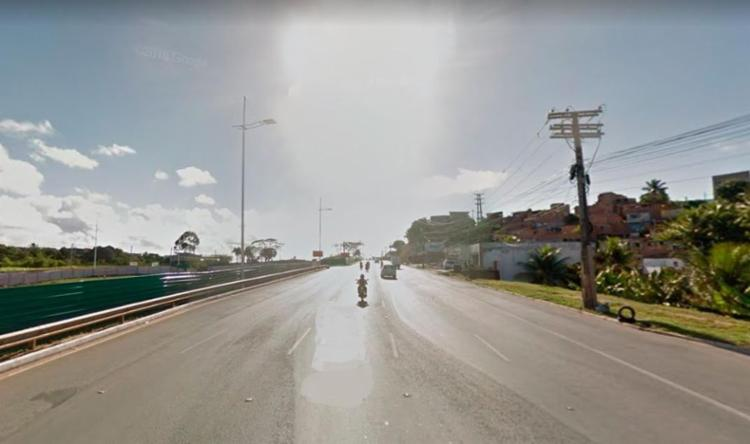 Colisão aconteceu nas imediações do Bairro da Paz - Foto: Reprodução   Google Maps