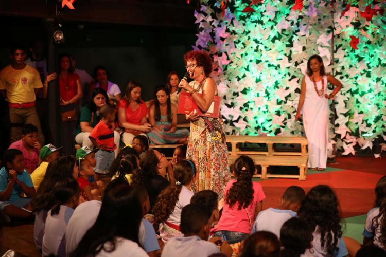 Fliquinha, espaço para a garotada, acontecerá no Cine-Theatro Cachoeirano, com acesso gratuito - Foto: Flica | Divulgação