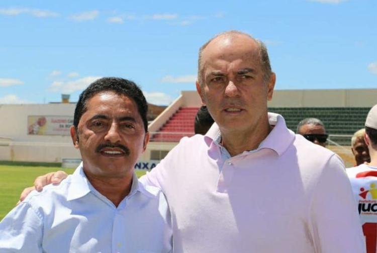 Carlos Rabelo (D) levou a Juazeirense à Série C do Brasileirão - Foto: Reprodução | Facebook | Juazeirense