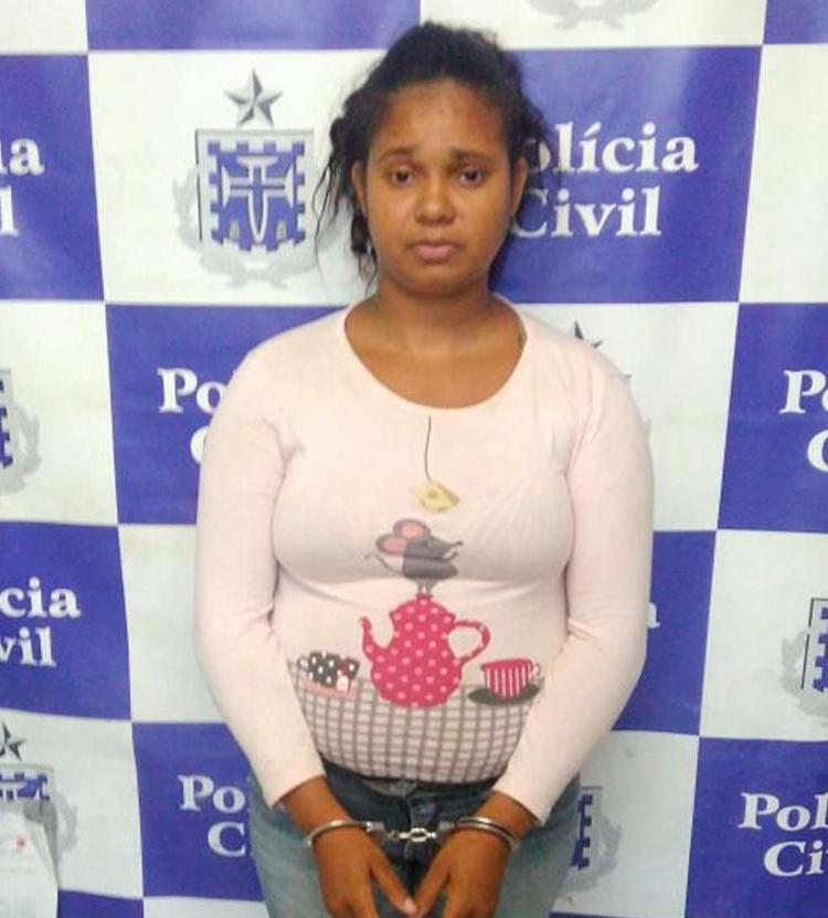 Mayara Almeida Gomes, 26, admitiu traficar drogas - Foto: Divulgação | Polícia Civil