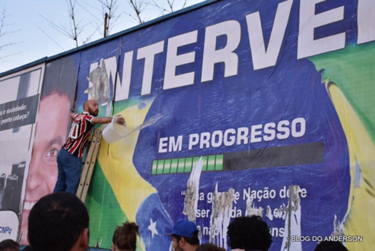 Ato aconteceu em Vitória da Conquista, no sudoeste da Bahia - Foto: Reprodução | Blog do Anderson