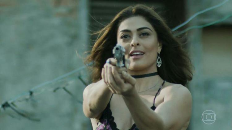 Atriz interpreta a personagem Bibi Perigosa na trama das 21h - Foto: Reprodução   TV Globo