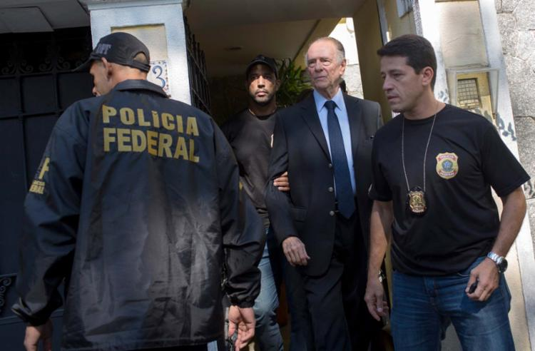 Carlos Arthur Nuzman foi preso na manhã desta quinta-feira, 5 - Foto: Mauro Pimentel | AFP