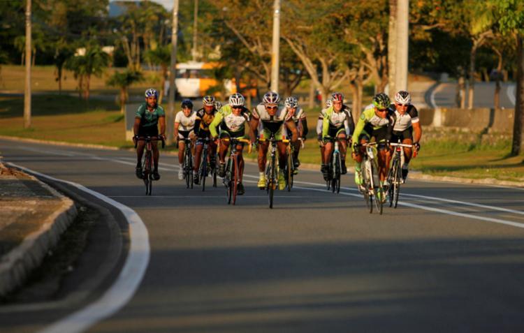 Ciclistas vão usar o CAB como circuito para as corridas - Foto: Joa Souza | Ag. A Tarde