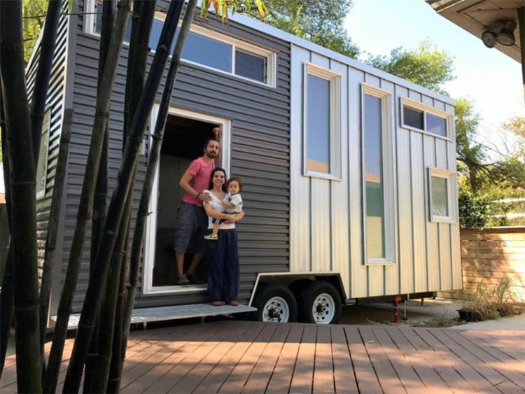 A casa, que deve ficar pronta até novembro, será a primeira tiny house legalizada do Brasil - Foto: Arquivo Pessoal