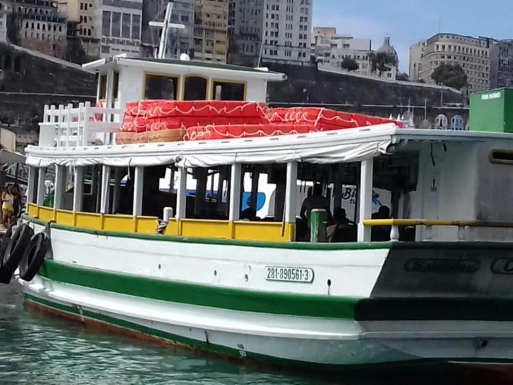 A embarcação foi escoltada pela Capitania dos Portos até Salvador - Foto: Divulgação | 2º DN