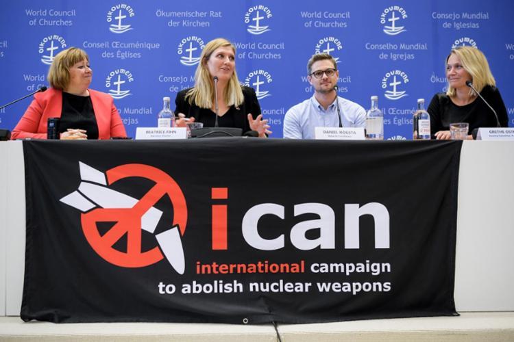 O Ican é uma coalizão de grupos não governamentais presente em mais de 100 países - Foto: Fabrice Coffrini | AFP