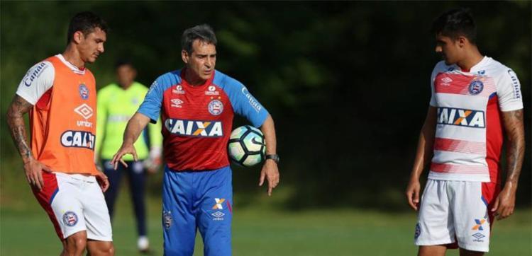 Carpegiani disse que já tem ideia de como melhorar rendimento do time - Foto: Divulgação   ECBahia