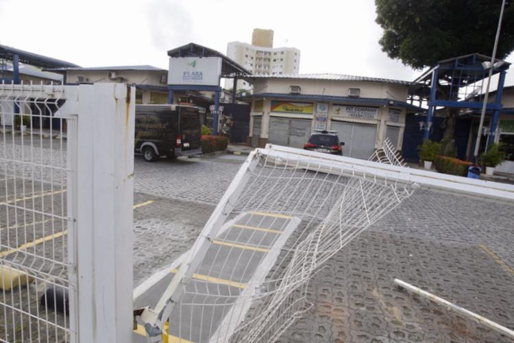 O crime aconteceu dentro do Plaza Shopping no Cabula - Foto: Luciano da Matta | Ag. A TARDE