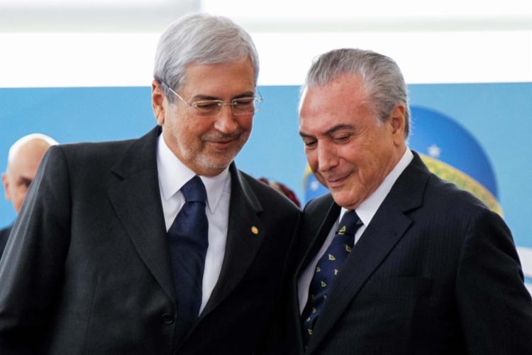 O baiano Imbassahy foi escolhido pelo presidente Temer para apaziguar a situação - Foto: Beto Barata | PR | Divulgação | 03.02.2017