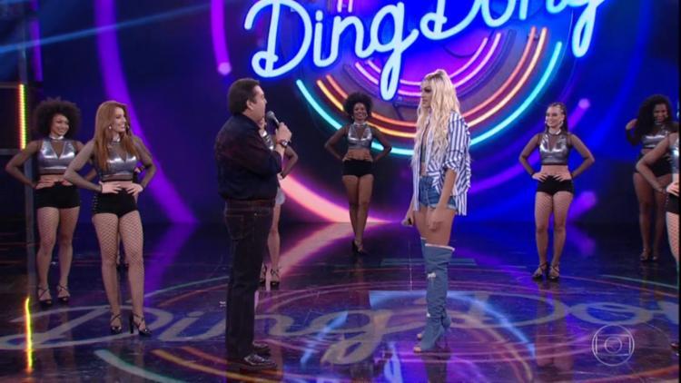 Pabllo ignorou erro do apresentador Faustão durante o programa - Foto: Reprodução   TV Globo
