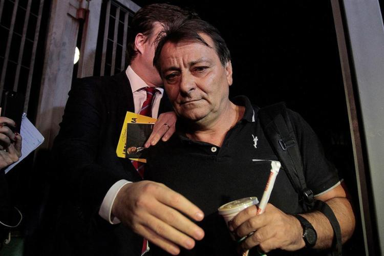 O italiano Cesare Battisti é considerado foragido da justiça - Foto: Reginaldo Castro l AFP