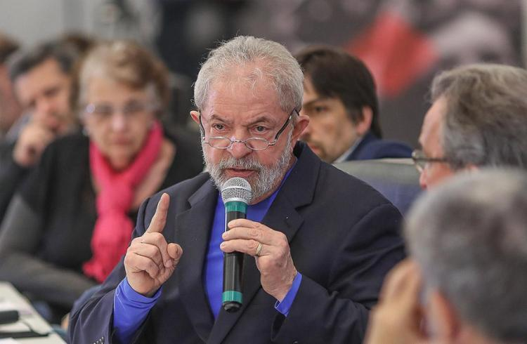 Lula está disposto a manter a candidatura mesmo preso - Foto: Ricardo Stuckert l Fotos Públicas l 15.8.2017