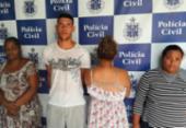 Quatro são presos e adolescente é apreendida com drogas em Ipirá | Foto: