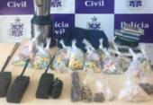 Drogas avaliadas em R$ 35 mil são apreendidas no Nordeste de Amaralina | Foto: