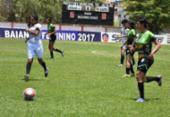 Jequié e Lusaca fazem primeiro duelo da final do Baiano feminino | Foto: