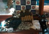 Polícia apreende 85 quilos de maconha em Arraial D