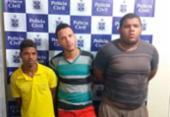Suspeitos de tráfico de drogas são presos em Valença | Foto: