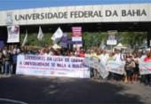 Servidores em greve fazem assembleia e passeata nesta quinta | Foto: